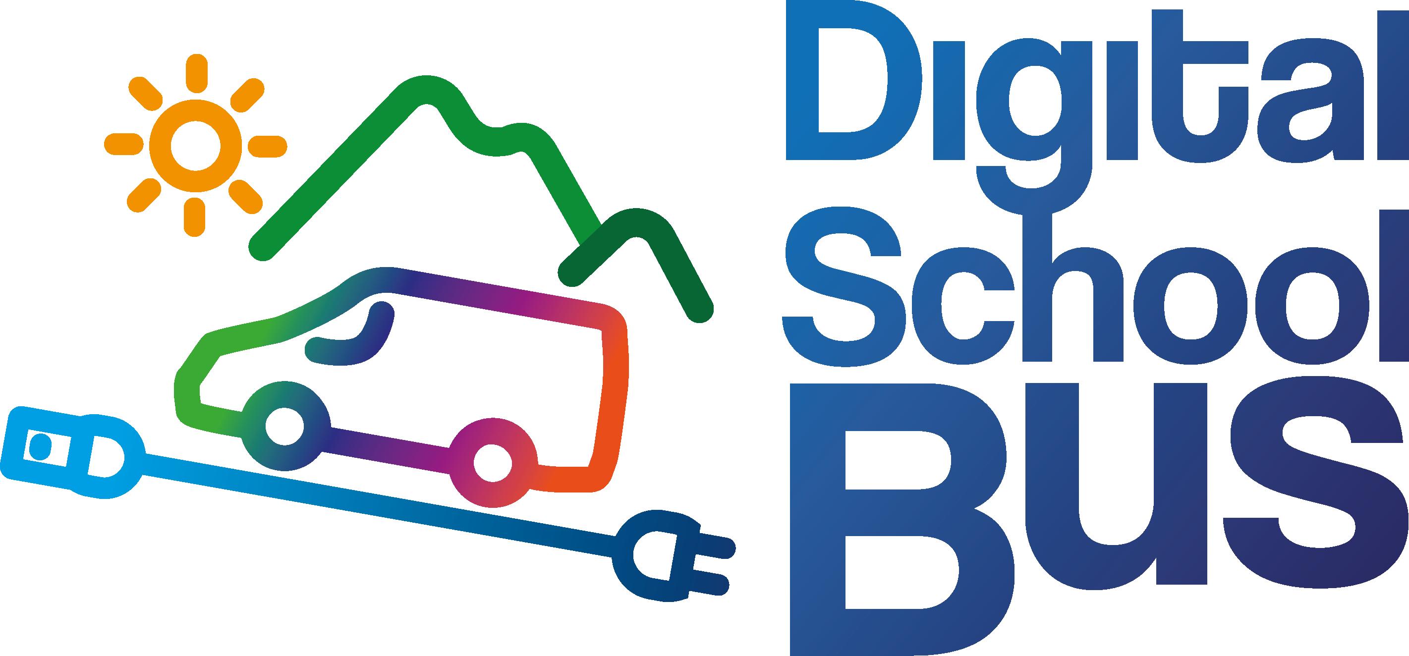 Digital School Bus Logo